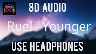Ruel   Younger (8DAudio)🎧