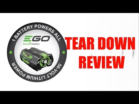 EGO 56V Battery Teardown Review