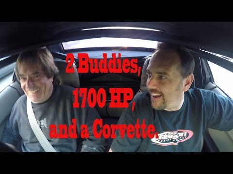 2 Buddies, 1700 HP, and a Corvette.  Tom Street Tests for the first Time since Iceland accident.