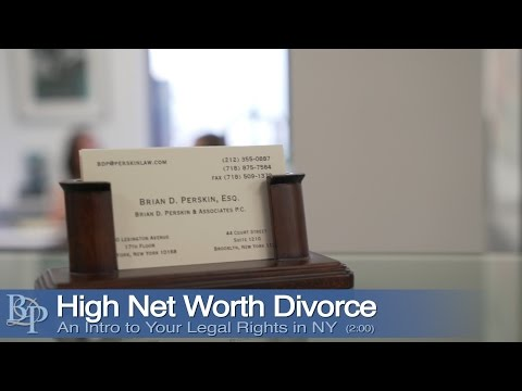 High Net Worth Divorce Brian Perskin New York