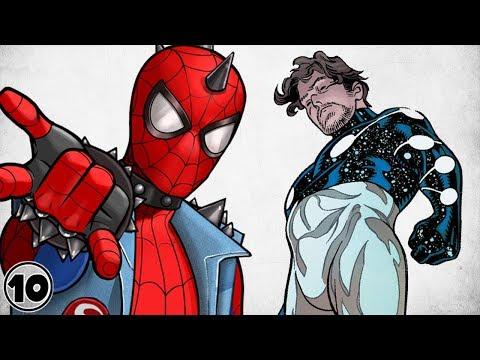 Top 10 Strongest Alternate Versions Of Spider-Man