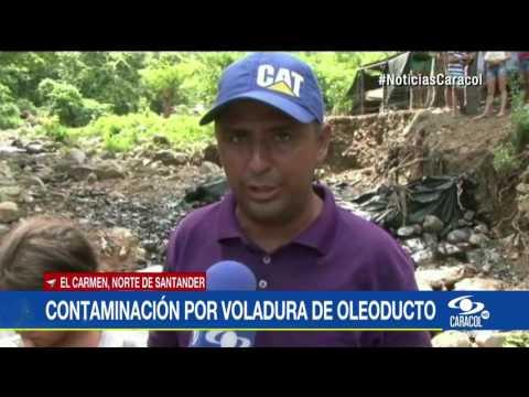 Atentado contra oleoducto Caño Limon – Coveñas provoco grave emergencia ambiental