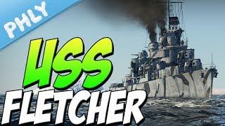 US Navy - American Destroyer USS Fletcher (War Thunder Naval Forces)