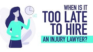 When Is It TOO LATE To Hire An Injury Lawyer? [BJP #132]