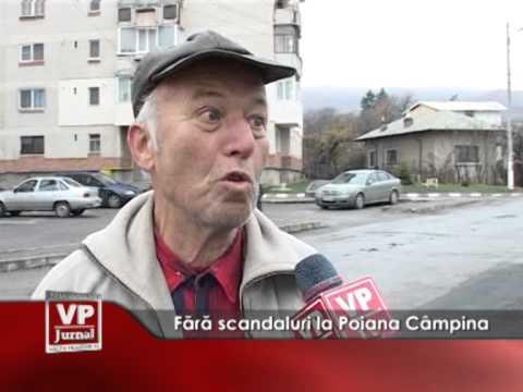 Fără scandaluri la Poiana Câmpina