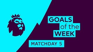 Download Video Premier League Goals & Highlights | Matchday 5 | 2018/19 MP3 3GP MP4