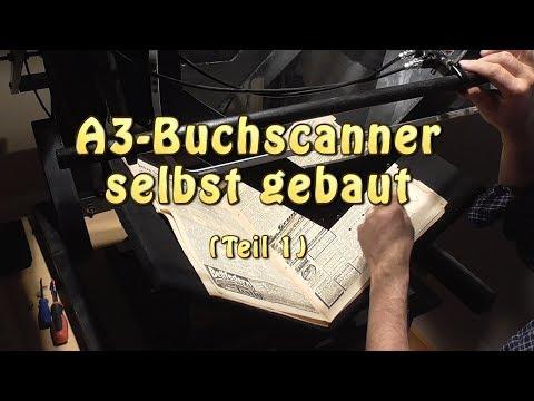 Buchscanner A3 selbst gebaut