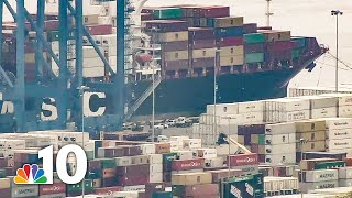 $1 Billion in Cocaine Seized at Philly Port, Crew Charged | NBC10 Philadelphia