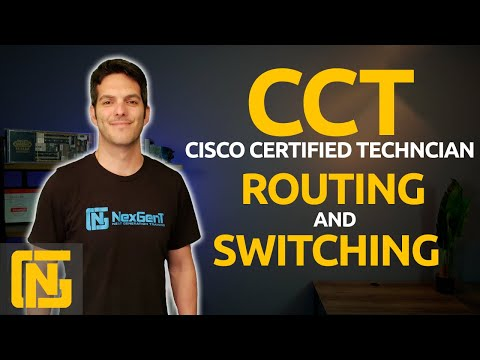 Cisco CCT - Routing and Switching 100-490 RSTECH Certification ...