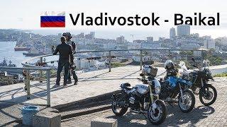 Video blog: Part 2 - Riding from Vladivostok to lake Baikal (Russia)