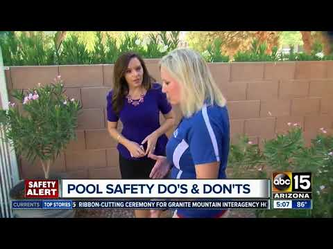 Pool safety do's and don'ts