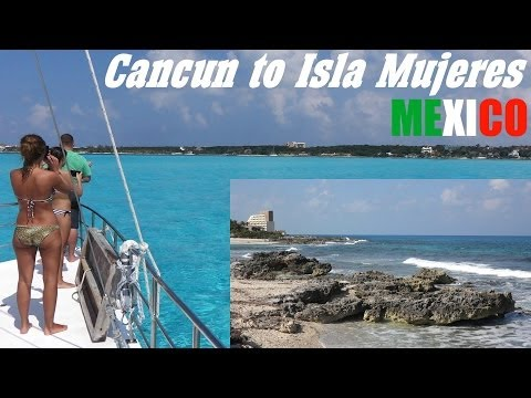 From Cancun to Isla Mujeres Mexico Boat Ride – Caribbean Sea