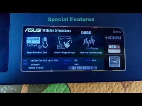 ASUS X453SA Review