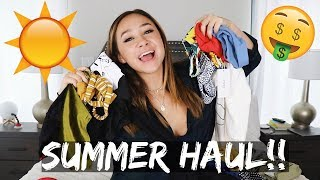 HUGE AFFORDABLE SUMMER TRY ON HAUL!!