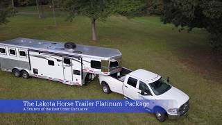 Lakota LQ Horse Trailer Walkthrough - Platinum Package - A Trailers Of The East Coast Exclusive!