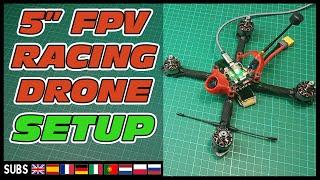 Come costruire un Drone RACING di fascia ALTA (Torretta, Flywoo, FuriuousFPV, TBS) - Parte 2 SETUP