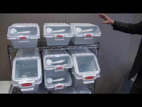 Mobile Ingredient Bin