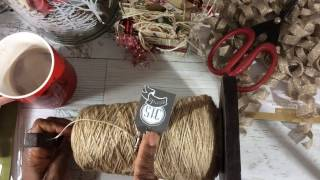 The Perfect Twine & Simple Holiday Gift Tag Tutorial