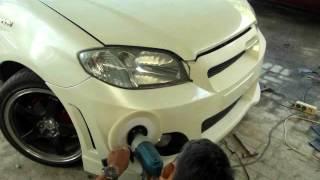 Toyota Vios 2005, Custom Front Bumper