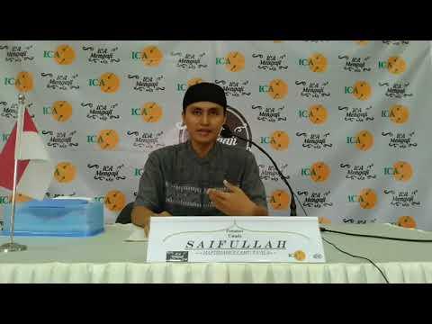 Ustadz Saifullah, Alumni STDI Imam Syafi'i, Jember Kitab Majalisu Ramadhaniyyah