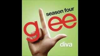 Diva - Glee Cast Version (Lyrics)