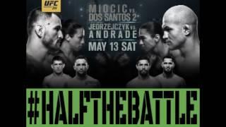 UFC 211: Miocic vs Dos Santos 2 Bets, Picks, Predictions on Half The Battle