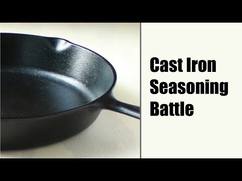 Should You Be Seasoning Your Cast Iron With Flaxseed Oil?