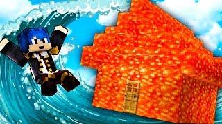 Minecraft ITA - CASA DI LAVA VS TSUNAMI!