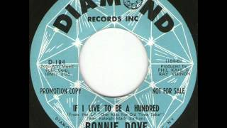 Ronnie Dove - If I Live To Be A Hundred