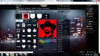 Tutorial simple para emblemas en Battlelog Battlefield 4 Español Latino HD