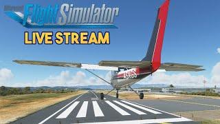 Microsoft Flight Simulator  - Preview Flight - Small Planes