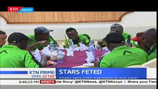 Harambee Stars feted after winning the CECAFA senior challenge cup