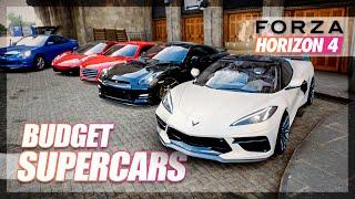 Forza Horizon 4 - Best BUDGET Supercar! (Less than $100k)