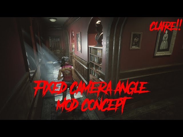 This Resident Evil 2 Mod Returns Fixed Camera Perspective To The