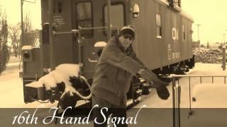 Railway Hand Signals - Answers Below