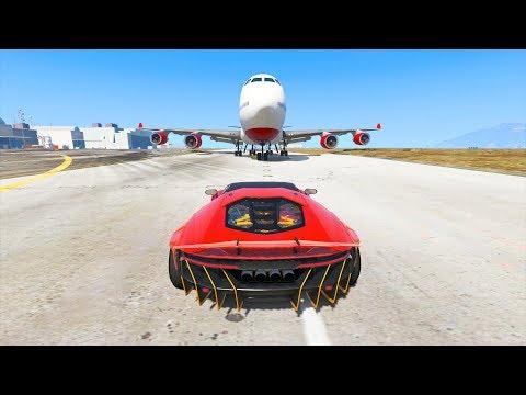 BEST CAR CRASH COMPILATION IN GTA 5 - смотреть онлайн на Hah