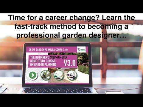 Garden Design Diploma Course - The Great Garden Formula Online ...