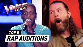 BEST RAP Blind Auditions in The Voice