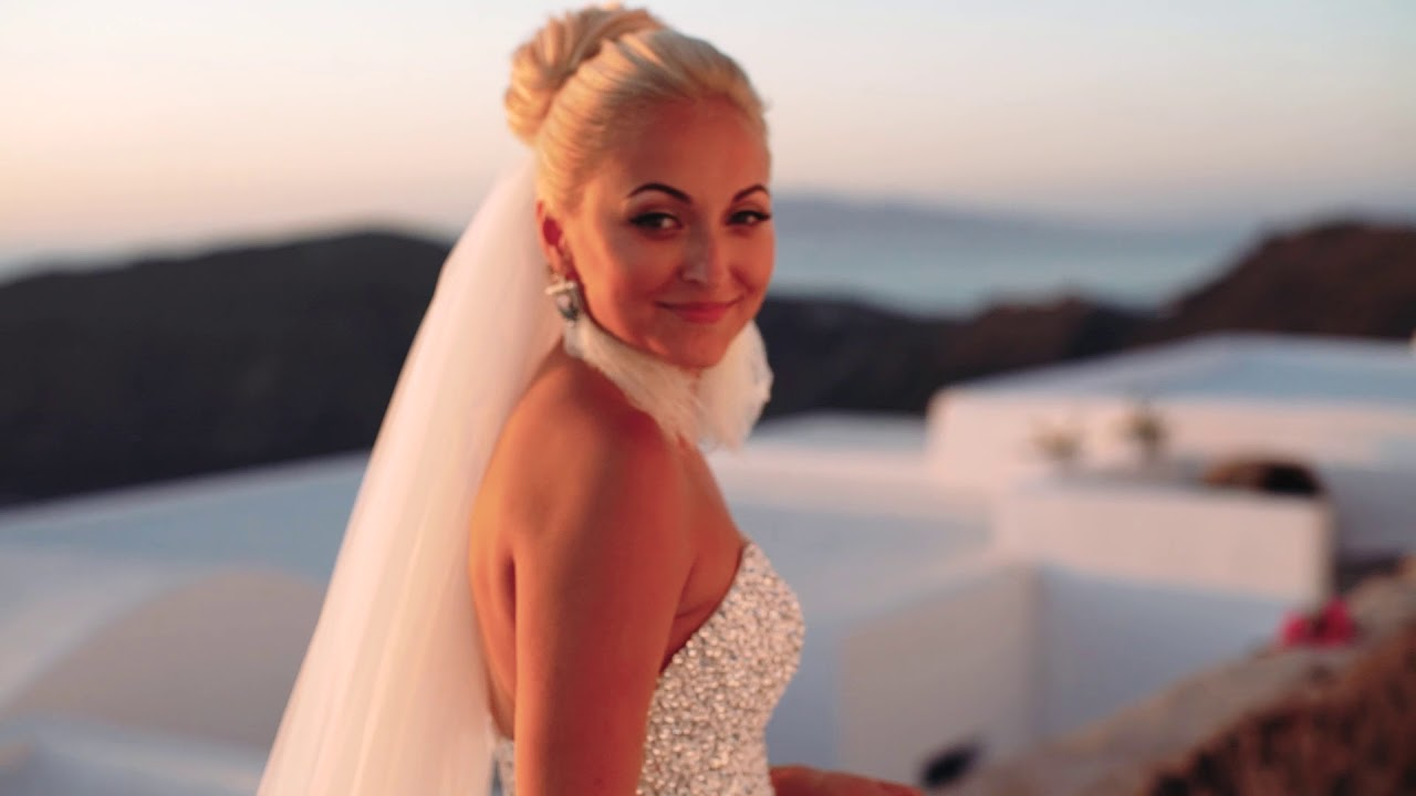 Портфолио церемонии бракосочетания на Санторини - Екатерина и Дмитрий - Фото 1