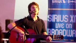 "Andy Karl singing ""Let Love Grow"" at Sirius XM Live on Broadway 7/8/09"