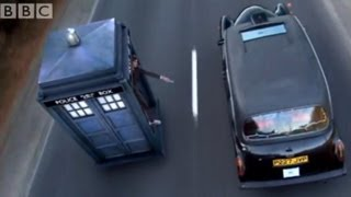 Chasing a Taxi in the Tardis
