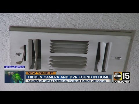 Renters find cameras hidden in A/C vent at Chandler home