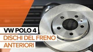 Cambio dischi del freno anteriori e pastiglie freni VW Polo | Tutorial HD