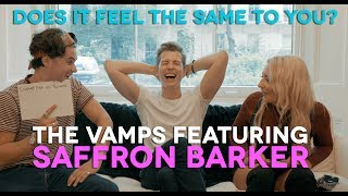 The Vamps - Does It 'Feel' The Same To You with Saffron Barker