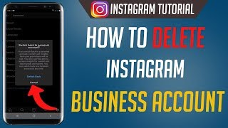 How To Delete Instagram Business Account