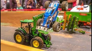 Awesome Farming! RC Tractor Action In 1/32 Scale! Big Fun!