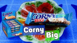 Злаковый батончик Corny Big Coconut с кокосом и шоколадом Пробуем и наслаждаемся злаковым батончиком  Corny Big с  кокосом. Злаковая вкусность и полезность корни биг шоколад с кокосом,  или кокос с шоколадом вернее.  Не знаю как