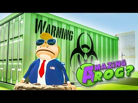 ZOMBIE FROG INVASION & FLUSHING SPACE SHUTTLE - Amazing Frog Gameplay (New Amazing Frog Update)