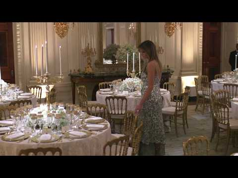 The State Visit of President Macron and Mrs. Macron