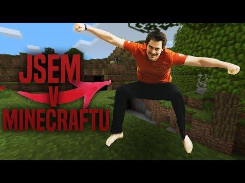 JSEM V MINECRAFTU! - HARDCORE VR Minecraft